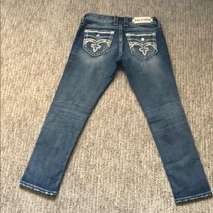 Rock Revival crop Pilkin jeans